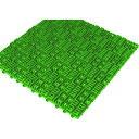 ■ミヅシマ クロスラインマットエース 150X150 緑 420-0300 ミヅシマ工業(株)[TR-4453344]