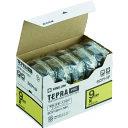 ■キングジム テプラPROテープカートリッジ テープ色:黄 文字色:黒 SC9Y-5P (株)キングジム[TR-8277149]