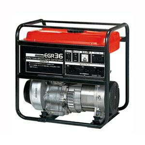 やまびこ(新ダイワ)ガソリンエンジン発電機EGR36-SB60HZ(西日本用)スローダウン付[個人宅