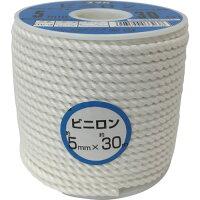 ■ユタカメイク ロープ ビニロンロープボビン巻 5Φ×30m〔品番:RV-3〕[TR-3676862]の画像