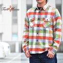 TWO MOON トゥームーン ネルシャツ Flannel shirt フランネルシャツ Lot.720