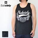 SUBCIETY サブサエティ タンクトップ TANK TOP 15th GLORIOUS Tシャツ 黒 白 M-XL 15周年 サブサエティー