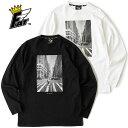 FAT エフエーティー Tシャツ BALLADAY メンズ M-XL 白/黒 ballaholic ボーラホリック sb コラボ F32010-CT10