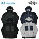 COLUMBIA コロンビア リバーシブルジャケット リバーロックジャケット M-XL 黒 グレー フリース PM3804 アウトドア