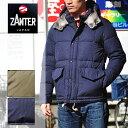 ザンター ダウンジャケット ZANTER ダウン 800フィルパワー 17秋冬 メンズ ネイビー オリーブ 6710
