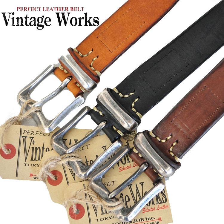 VINTAGE WORKS ヴィンテージワークス DH5675 レザーベルト ベルト アメカジ 国内生産