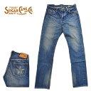 SUGAR CANE シュガーケーン ジーンズ SC41501L ロンスターデニム スリムフィット 砂糖黍 LIGHT BLUE メンズ ユーズドウォッシュ