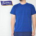 PHERROW'S フェローズ Tシャツ ボーダーポケットTシャツ クルーネック 17S-PBPT2