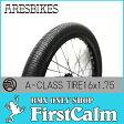 【BMXパーツ】ARESBIKES アーレスバイク A-CLASS TIRE 16x1.75 110psi BK