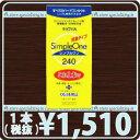 (後払OK)HOYA【ホヤ】シンプルワン 240ml × 1本【ハード】【O2】