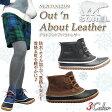 【クリスマスラッピング中】【20%OFF!】SOREL ソレル NL2133 NL2339 Out 'n About Leather アウトアンドアバウトレザー ショートブーツ ブーツ レディース 防水