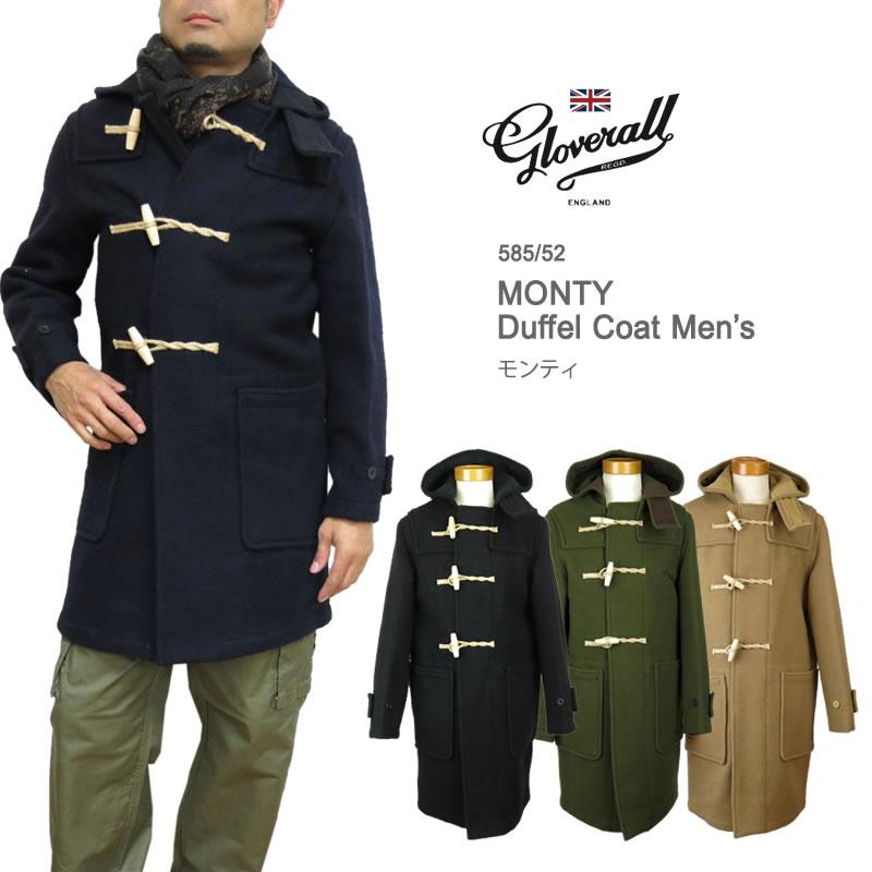 【10%OFF!】Gloverall グローバーオール 585/52 MONTY モンティ ダッフルコート メンズ