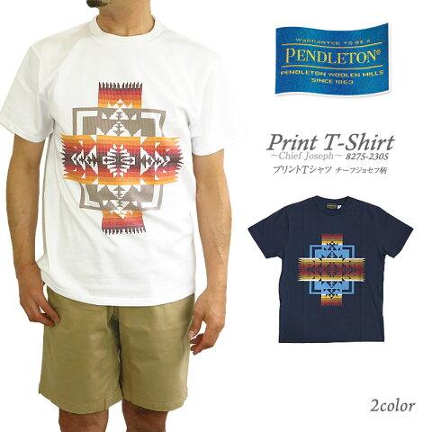 【NEW】PENDLETON ペンドルトン Chief Joseph Print T-Shirt tシャツ 8275-2305 メンズ Made in USA 米国製