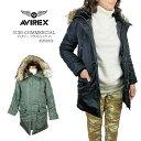 【NEW】AVIREX アビレックス 6252053 N-3B COMMERCIAL ミリタリージャケット アヴィレックス レディース n3b