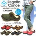 【ポイント10倍!】Regetta Canoe リゲッタ カヌー CJEG5293 エッグヒール サンダル サボ レディース sale