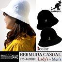 【20%OFF!】KANGOL カンゴール 175-169201 BERMUDA CASUAL バミューダ カジュアル ハット 帽子