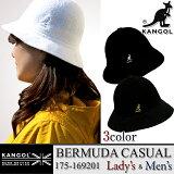 【10%OFF!】KANGOL カンゴール 175-169201 BERMUDA CASUAL バミューダ カジュアル ハット 帽子