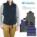 【NEW】コロンビア フリース ベスト COLUMBIA PM1665 BUCKEYE SPRINGS VEST バックアイスプリングス ベスト メンズ