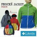 【NEW】コロンビア ジャケット マウンテンパーカー COLUMBIA PM3179 FROCKS JACKET フロックスジャケット レインウェア