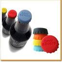 シリコン ボトル キャップ ふた キッチン用品 飲料水 ペットボトル 飲みかけ パーティ 水 酒 蓋 ワイン ジュース 保存 おもしろ 炭酸抜けない 気抜け防止 パーティグッズ キッチン小物
