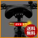 自転車用 ウインカー LED ライト ブレーキライト 簡単設置 テールランプ ブレーキランプ 警報 バイク LEDライト 夜間 事故防止 ロードバイク 自転車用...