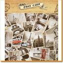 ヴィンテージ風 ポストカード オシャレな世界の観光地 32枚セット アート カード ヴィンテージ ア