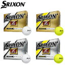 【2015年モデル】ダンロップ スリクソンZ-STAR 4、Z-STAR XV 4ゴルフボール 1ダース(12個入)US仕様[DUNLOP SRIXONZ-ST...