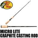 【バス プロ ショップス】 マイクロ ライト ベイトロッド / Micro Lite Graphite Casting Rod