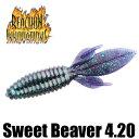 【リアクション イノベーションズ】 スウィート ビーバー / Sweet Beaver 4.20