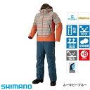 シマノ DSアドバンスウォームスーツ RB-025M ムーキビーブルー (M〜XL) 防寒着