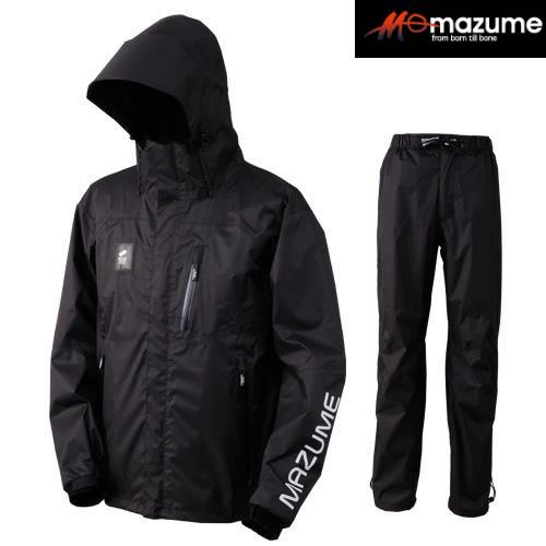 マズメ コンタクトレインスーツ ブラック MZXRS-021