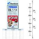 ハヤブサ カワハギ 超ショートハリス ハゲ鈎 3本2セット HD200 (仕掛け)