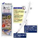 ハヤブサ 投げキス天秤式 競技用キス2本鈎 NT664 (投...
