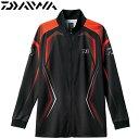 ダイワ ロングスリーブメッシュシャツ DE-75008 ブラック (フィッシングウェア)...