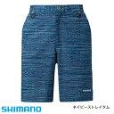 シマノ ライトドライショートパンツ PA-062Q ネイビーストレイタム S〜XL (フィッシングウ...