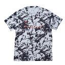 【6月1日限定! ポイント5倍】ハヤブサ UVメッシュTシャツ ホワイト Y1642 (フィッシングシャツ Tシャツ)