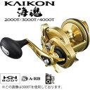 シマノ 海魂(KAIKON) 3000T (石鯛リール)