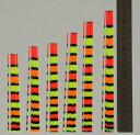 メール便送料無料有 ヘラブナ釣へら浮き【ウキ】手作り DIY用パイプトップ 30本 全長14?16cm 径1.5-1.0mm