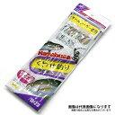 【ハヤブサ】オーロラMIXスキン白グレ6本針 くわせ釣りサビキ12号 12-12(TO8051A1)