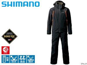 【シマノ】ゴアテックスマスターウォームスーツRB−014Mブラック/M