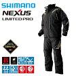 【シマノ】RB−111L ネクサス・ゴアテックス コンビネーションエクストリーム ウェザースーツ リミテッドプロ リミテッドブラック 4L