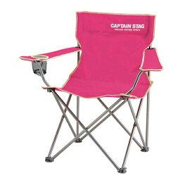 【キャプテンスタッグ】パレット ラウンジチェア type2 ピンク(M-3915)折り畳みチェア キャンプチェア アウトドアチェア キャプテンスタッグ チェア