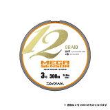 【ダイワ】メガセンサー 12ブレイド 300m巻 6号