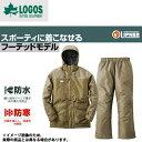★ ◆防水防寒スーツ コニー 3L カーキ ロゴス アウトドア 防寒着 防寒ウェア