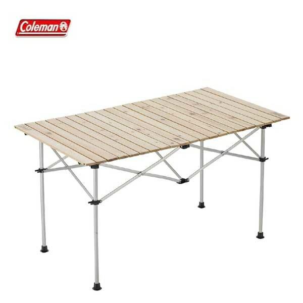 コールマンナチュラルウッドロールテーブル120(2000031291)アウトドアテーブルキャンプテー