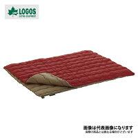 2in1・Wサイズ丸洗い寝袋・0 72600690 ロゴス シュラフ 寝袋 封筒型 キャンプ アウトドア 用品の画像