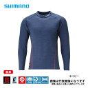 ブレスハイパー+℃ストレッチハイネックアンダーシャツ ネイビー 極厚タイプ XLサイズ IN-021Q シマノ