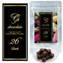 GI26(ダーク5個)【100%プレミアムベルギーチョコレー...