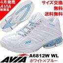 [AVIA]アビア フィットネスシューズ A6812W WL〔クリスタルホワイト×サックスブルー〕(22.5〜28.0cm/レディース/メンズ)【17SS04】...