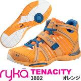 [RYKA]ライカ フィットネスシューズ TENACITY<テナシティー> C8149M-3802 〔オレンジ〕(22.0?28.0cm/レディース/メンズ)【ダンスシューズ】【新商品15FW】【正規